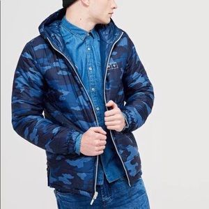 a8907faecf cropp Jackets   Coats - Blue Reversible Jacket - NWT